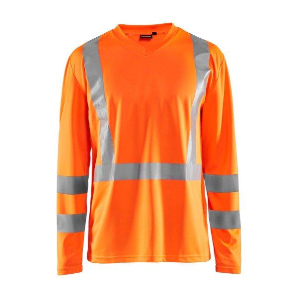 Blakläder UV Shirt High Vis Langarm 3383