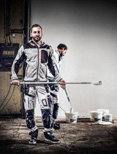 Funktionelle Arbeitskleidung für Maler bei GenXtreme