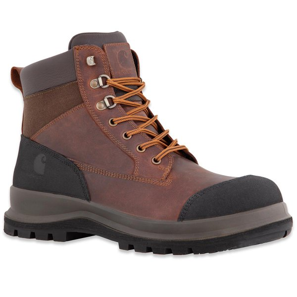 Carhartt Detroit Rugged Flex S3 Work Boot brown