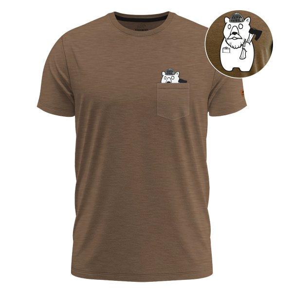 FORSBERG Lumberson T-Shirt mit Brusttasche