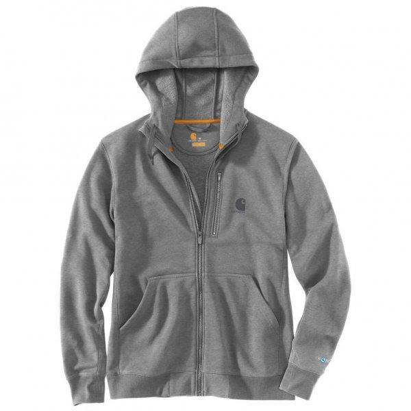 Carhartt Force Delmont Full Zip Hooded Sweatshirt