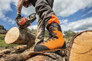 Haix Protector Forest Schnittschutzstiefel