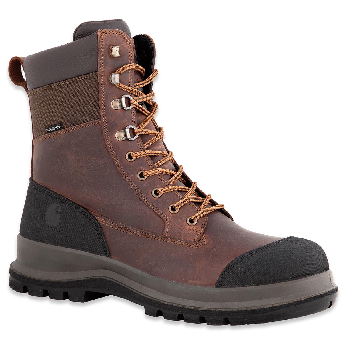 Vielzahl von Designs und Farben akzeptabler Preis besondere Auswahl an Carhartt Detroit Winter Work Boots S3 wasserdicht brown