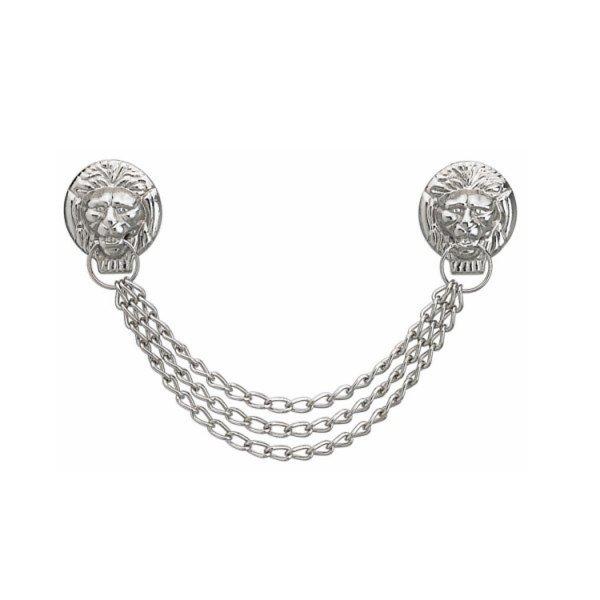 FHB Löwenkopfkette silber