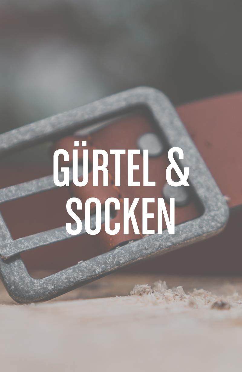 Gürtel & Socken