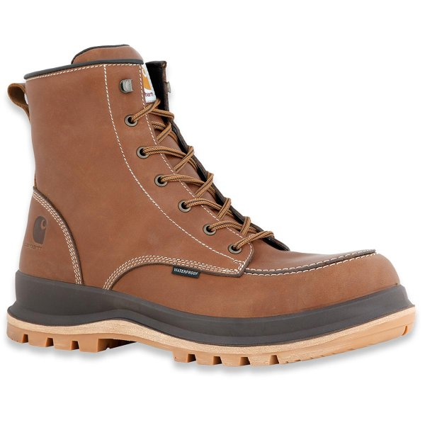 Carhartt Hamilton S3 wasserdichte Wedge Boot brown