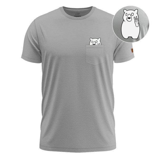 FORSBERG Fredson T-Shirt mit Brusttasche