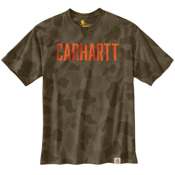 Carhartt Workwear Camo Block Logo T-Shirt