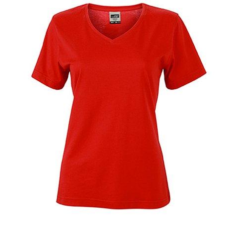 Damen T-Shirt einfarbig JN837