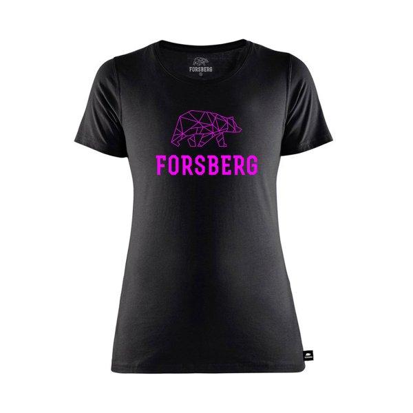 FORSBERG Kämpsan Logo T-Shirt Damen