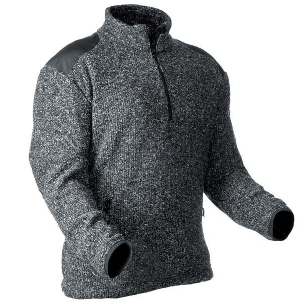 Pfanner Pullover aus gestricktem Fleece