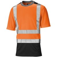 Warnschutz T-Shirt zweifarbig