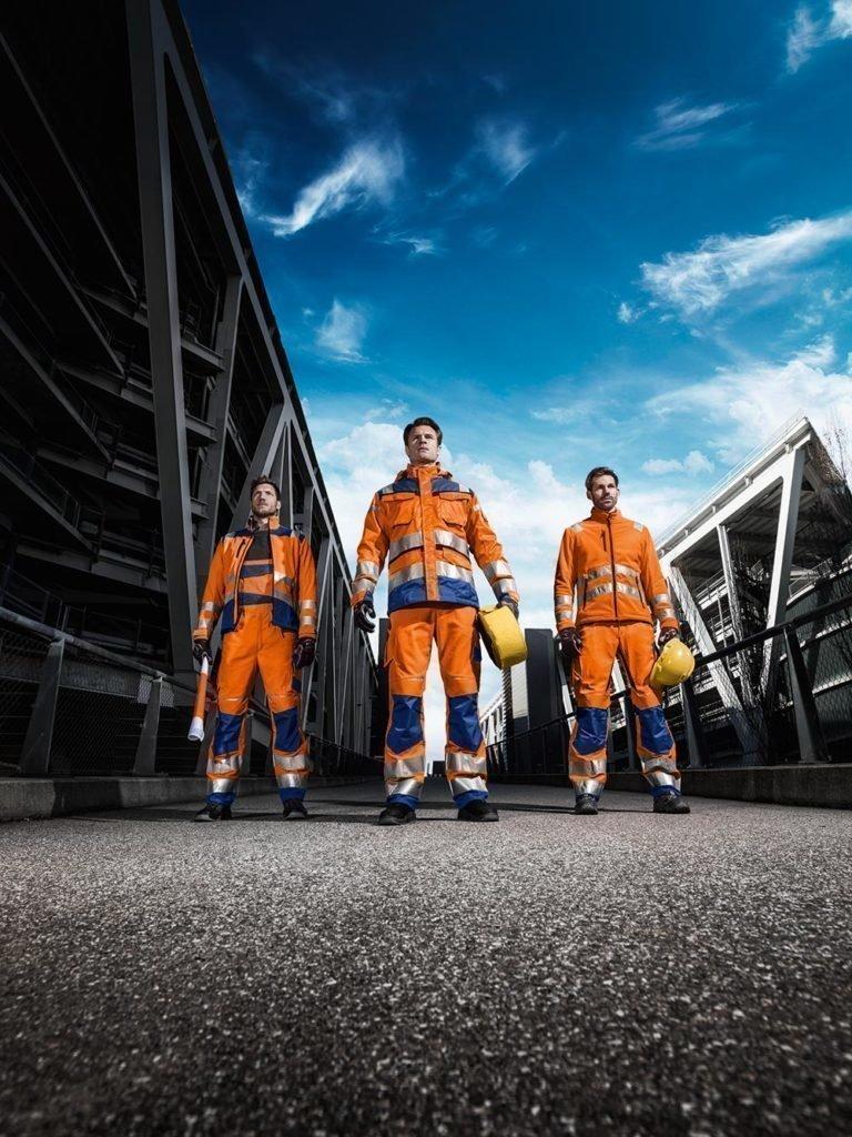 Die neue Warnschutzserie von Kübler Workwear