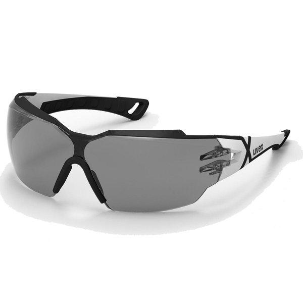 Uvex pheos cx2 Schutzbrille - grau getönt