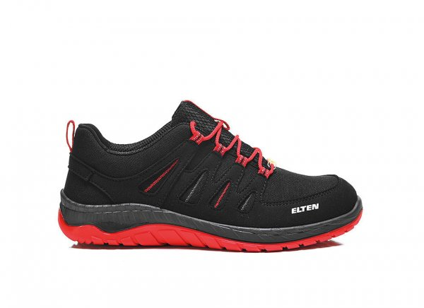 Elten MADDOX S3 Black-Red low ESD