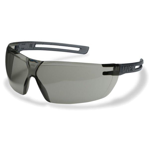 Uvex X-Fit Schutzbrille - grau getönt