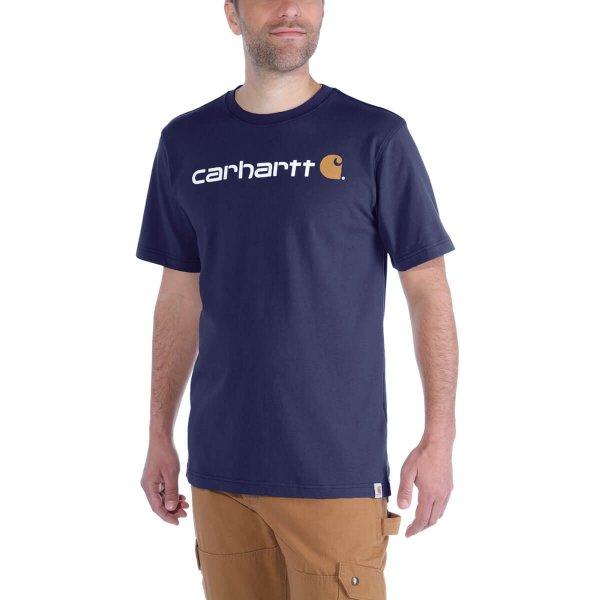 Carhartt Core Logo T-Shirt dicke Qualität
