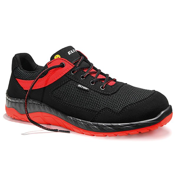 Elten LONNY red Low ESD S1P