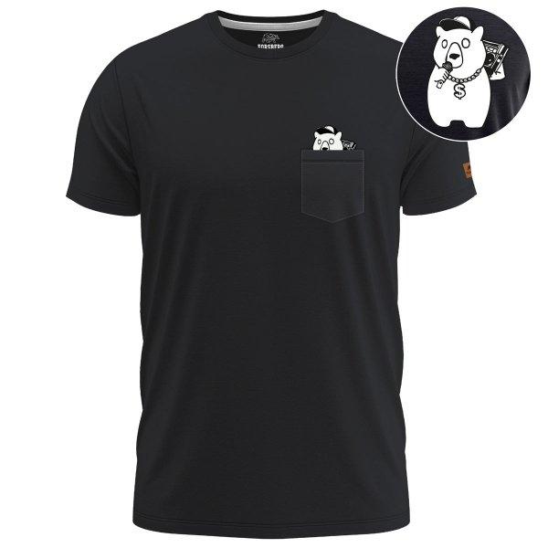 FORSBERG Bronxson T-Shirt mit Brusttasche