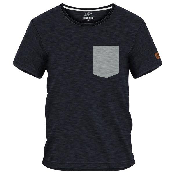 FORSBERG Aegirson T-Shirt mit Brusttasche