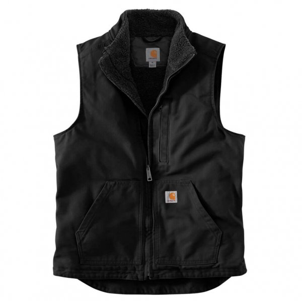 Carhartt Zandsteen Vest gevoerd voorwas V33