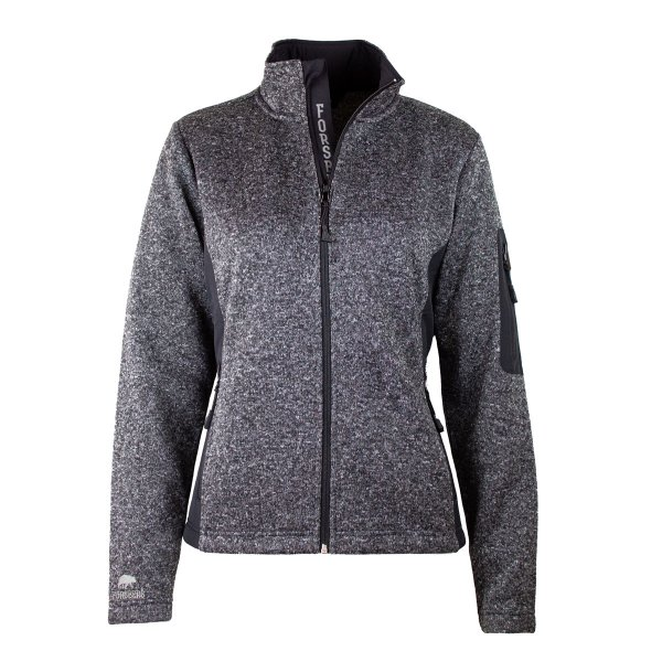 FORSBERG Elva Damen Strickfleece Jacke