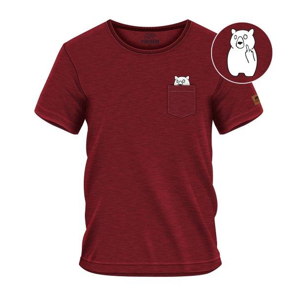 FORSBERG Fingarson T-Shirt mit Brusttasche