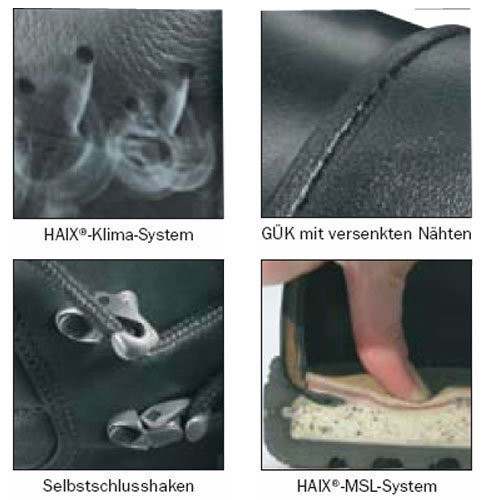 haix schuh system