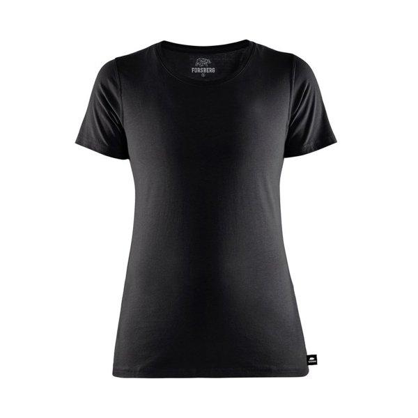 FORSBERG einfarbiges T-Shirt Damen